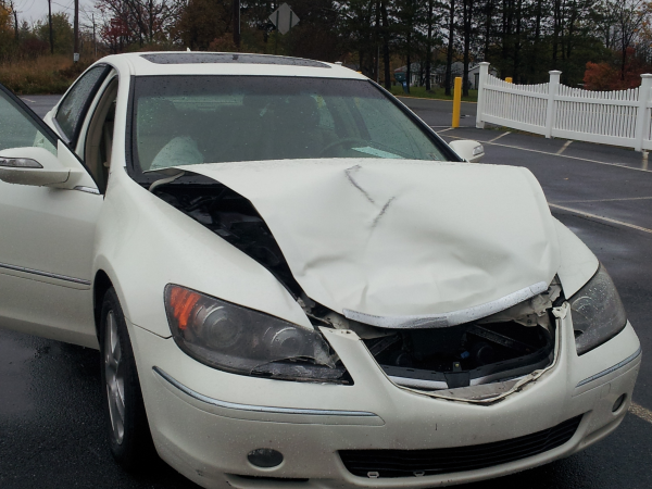 Extraordinary customer service makes up for unexpected car crash.