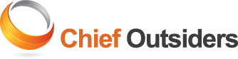 Chief Outsiders Logo: Unique Among Marketing Consulting Firms, A Team of Strategic Marketing Consultants Provide Outsourced CMO Services