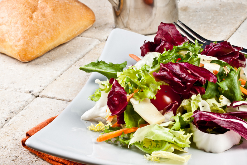 How marketing is like a salad: Customized and easy to change.