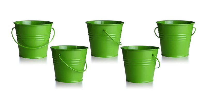 cutcaster-100914064-Green-buckets-small