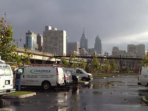 HVAC servicing by Cheif Outsider client Chadwick Services