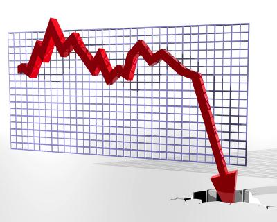 sales down