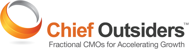 Chief Outsiders Logo: Outsourced CMO services to accelerate business growth