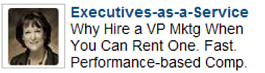 Executives-as-a-Service LinkedIn Ad