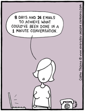 Email Is Not Always Your Friend – Three Ideas for Better Management