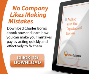 How to Profit from your Organizational Mistakes