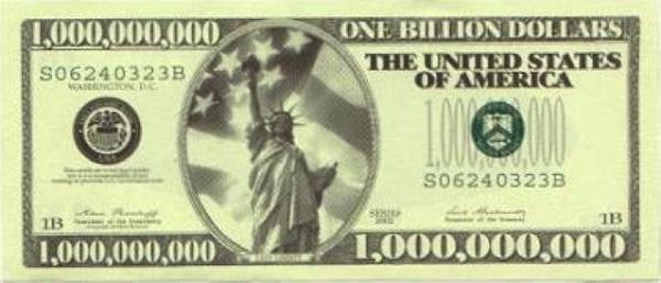 one billion dollar bill  resized 600