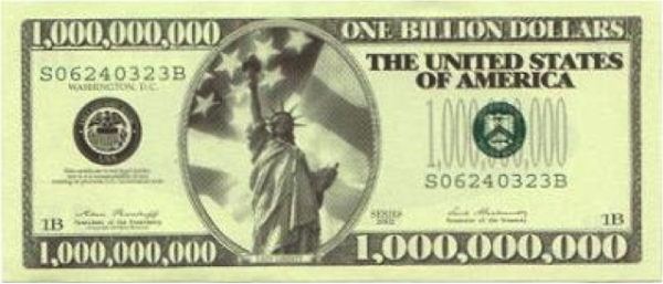 How We're Going To Make $1 Billion (for the US Economy)