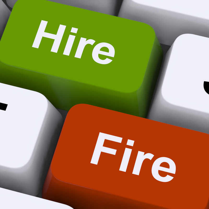Advice for how to fire and hire