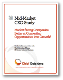 Chief Outsiders and University of Texas McCombs school research about market and operations oriented companies