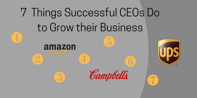 7 Things Successful CEOs Do to Grow their Business