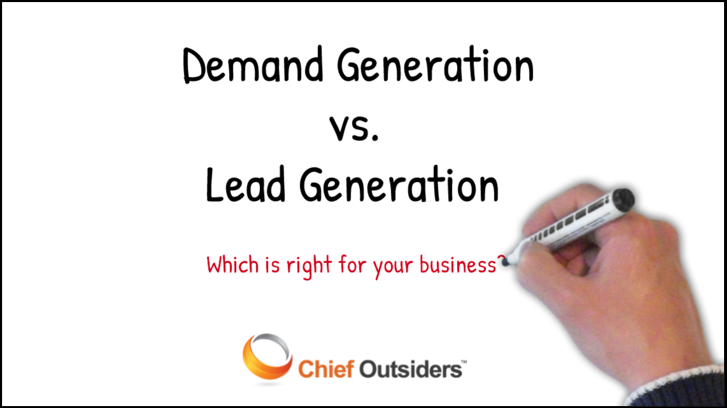 Demand vs. Lead Generation: A Strategic Approach to Creating Highly-Qualified Leads