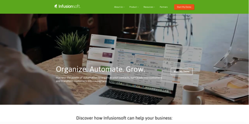 infusionsoft automation and productivity tools