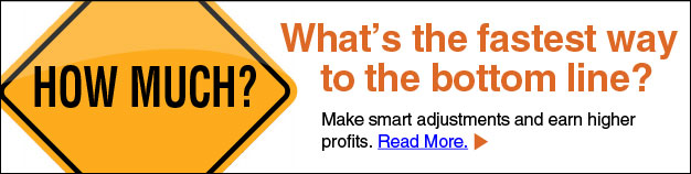 Make smart adjustments and earn higher profits