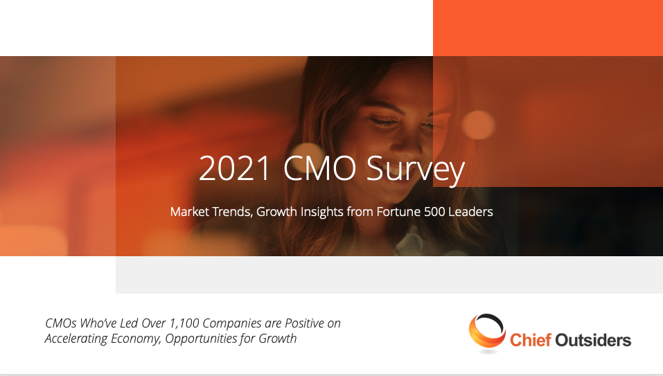 2021 CMO Survey: Market Trends, Growth Insights from Fortune 500 Leaders