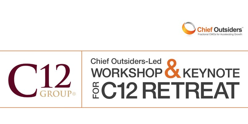 Chief Outsiders Paul Sparrow and Pete Hayes to Lead Upcoming C12 Event