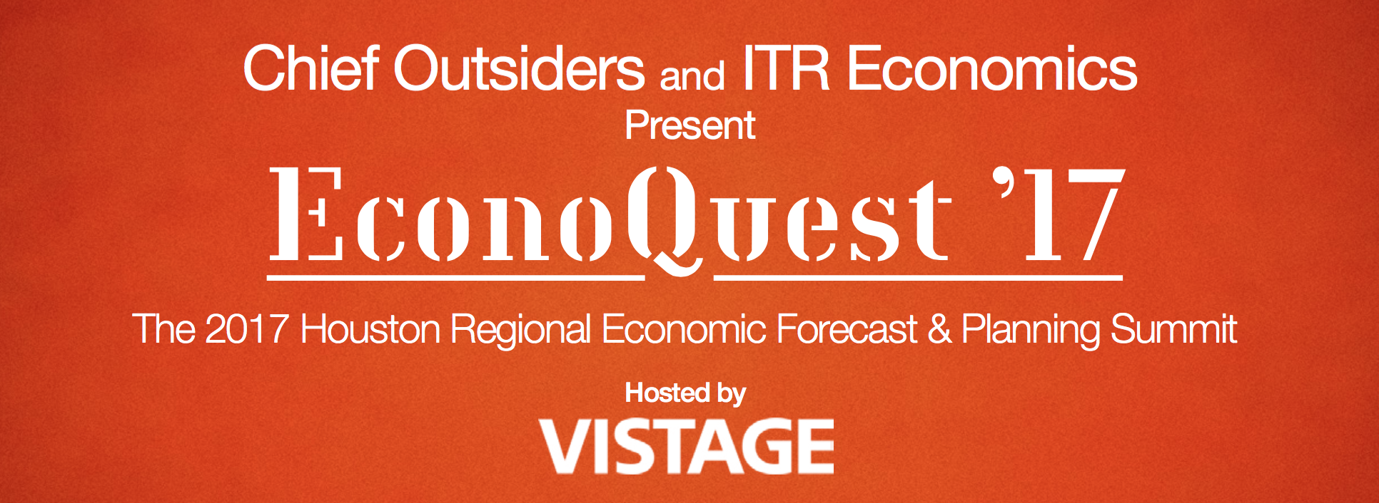 Chief Outsiders and ITR Economics to Present Econoquest '17 Economic Forecasting and Planning Summit